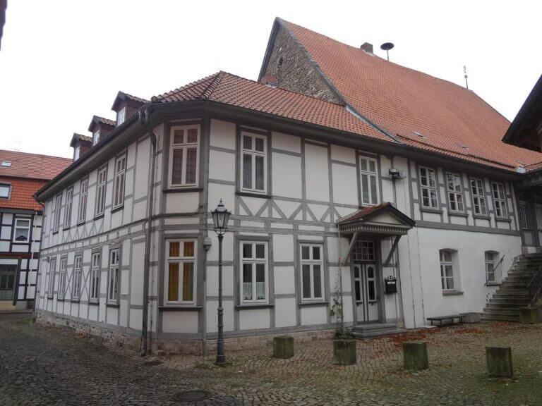 pg-lange - Altes Rathaus Osterode Foto Fachwerkanbau