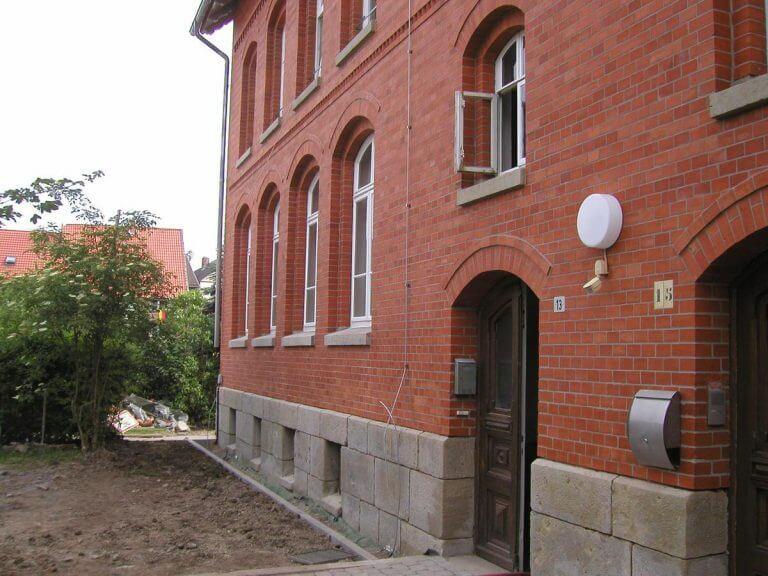 pg-lange - Alte Schule Düderode Fassade saniert