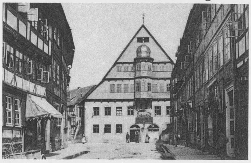 pg-lange - Altes Rathaus Osterode Bestand vor 1887