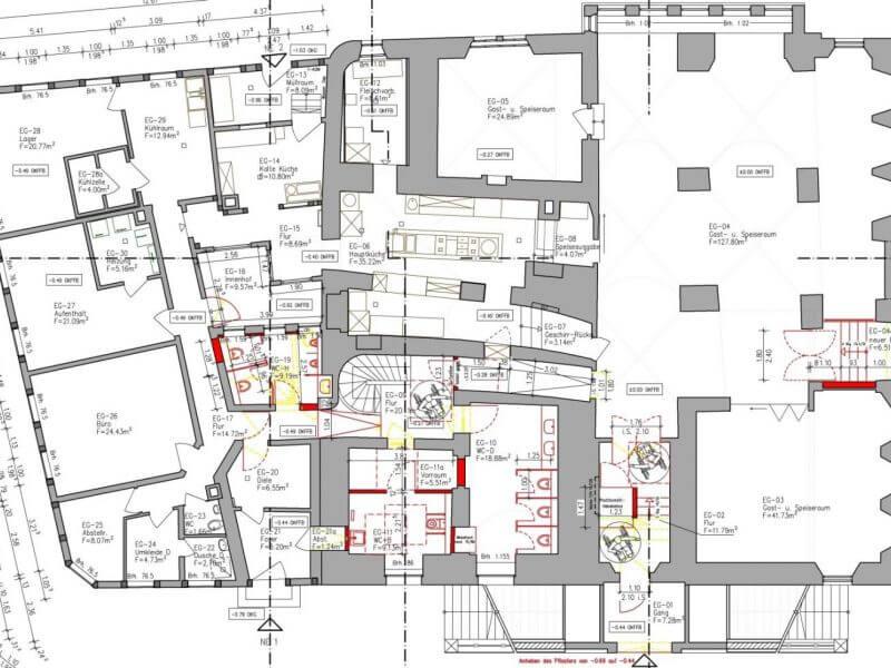 pg-lange - Altes Rathaus Osterode CAD Grundriss EG