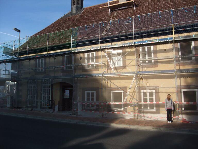 pg-lange - ehem. Waisenhaus Ansicht Bauphase