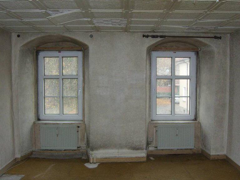 pg-lange - ehem. Waisenhaus Bestand Kunststoffenster in Aussenwand