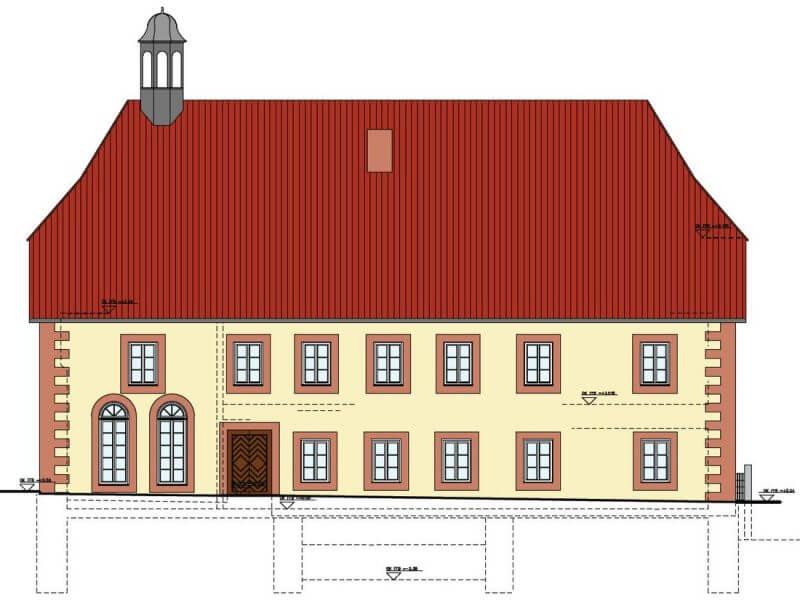 pg-lange - ehem. Waisenhaus CAD Ansicht