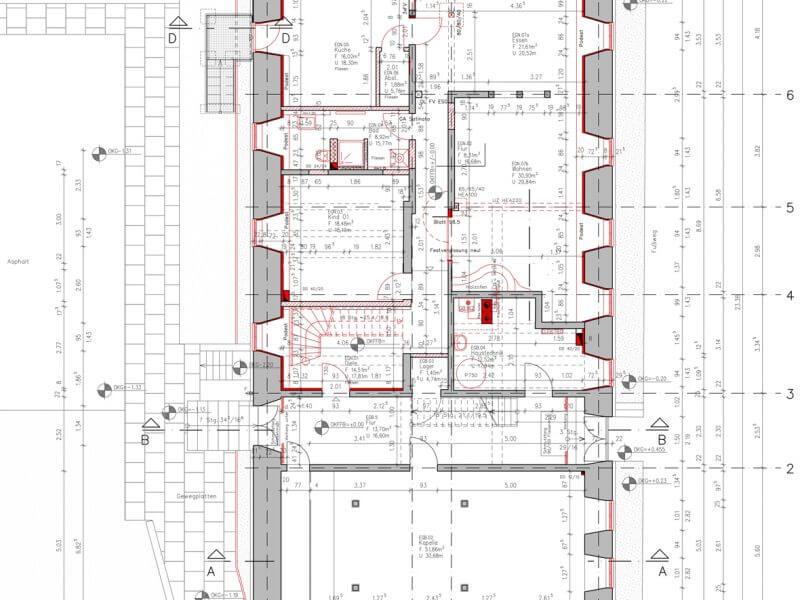 pg-lange - ehem. Waisenhaus CAD Grundriss