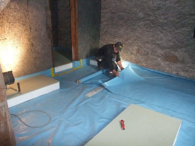 pg-lange - ehem. Waisenhaus Dämmung Dachboden