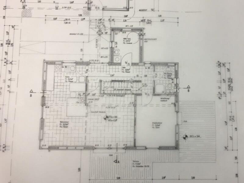 pg-lange - Neubau Holzrahmenbau Erdgeschoß