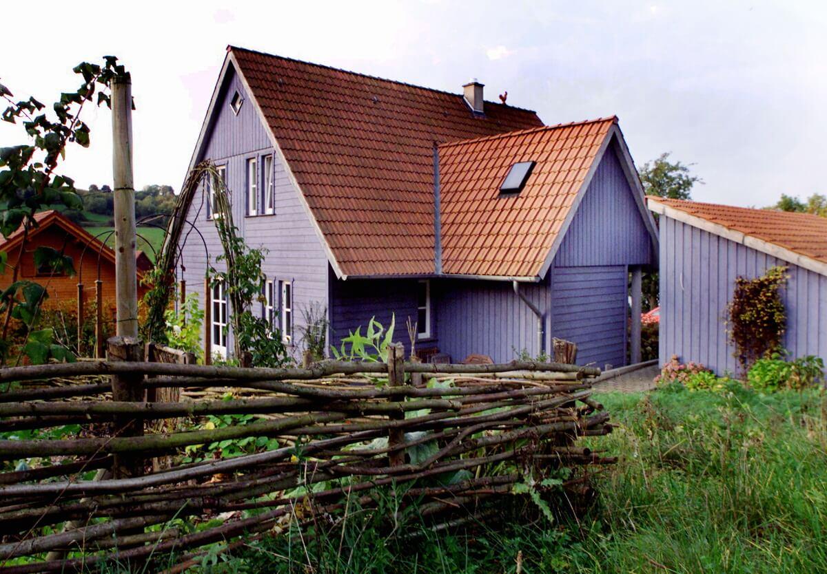Einfamilienhaus Holzrahmenbau - planungsgruppe lange