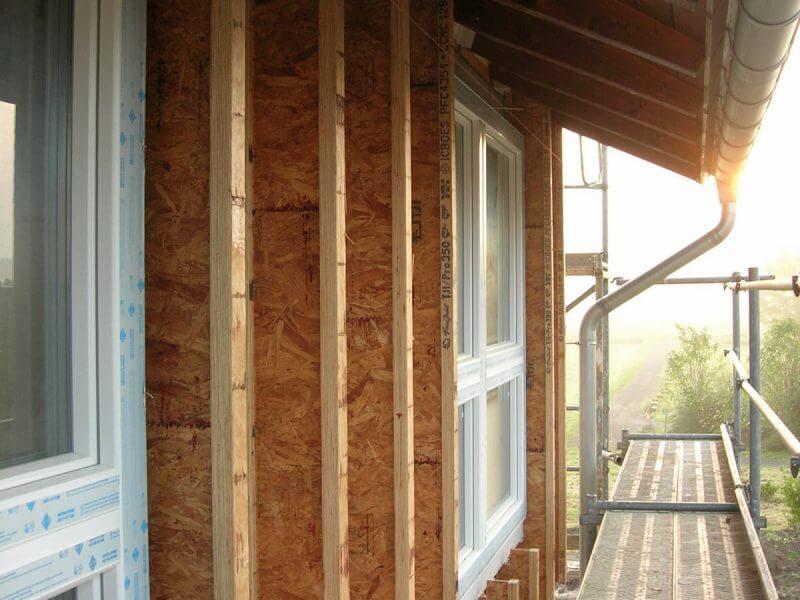 pg-lange - Passivhaus Foto Fassadendetail