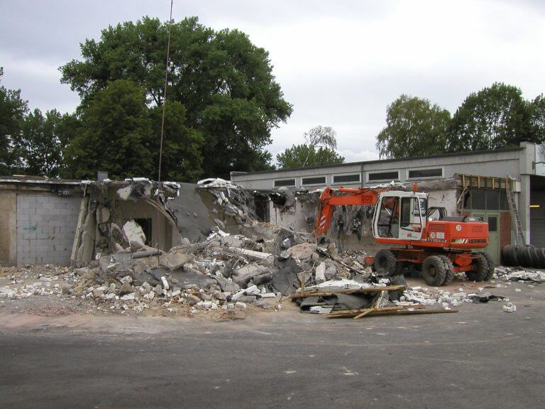 pg-lange - RBB Göttingen Foto Bestand Abbruch