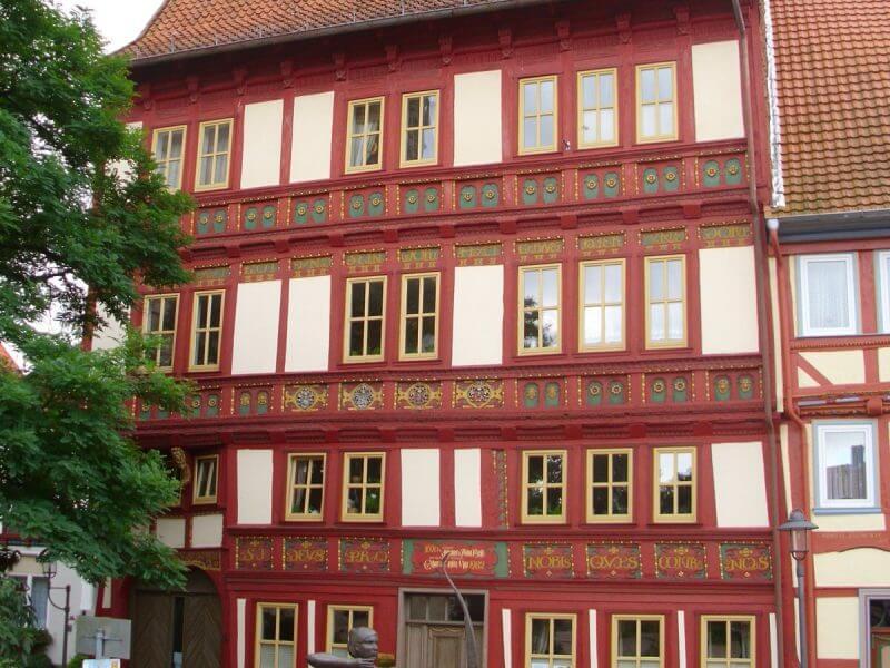 pg-lange - Tabalugahaus Ansicht Haus 84 Bestand vor Sanierung