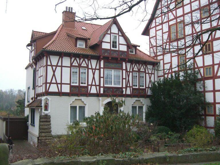pg-lange - Tabalugahaus Ansicht Haus 86 Bestand vor Sanierung