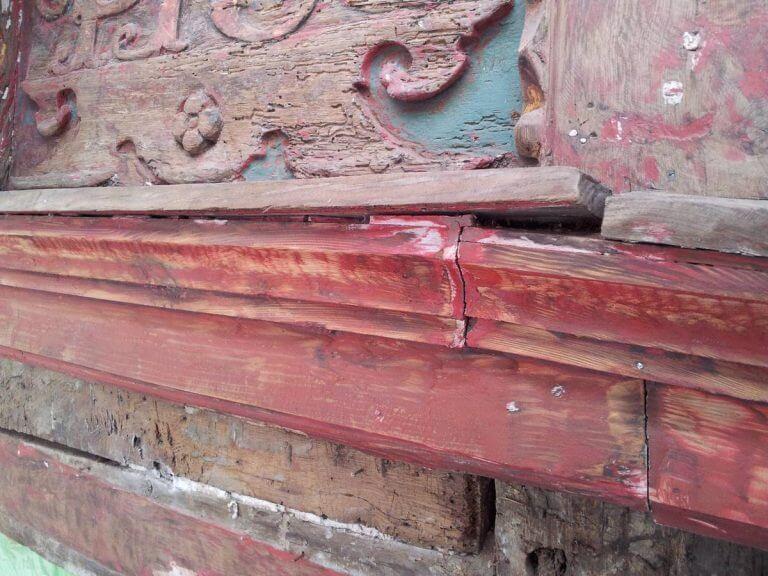 pg-lange - Tabalugahaus Fassadendetail Bestand vor Sanierung