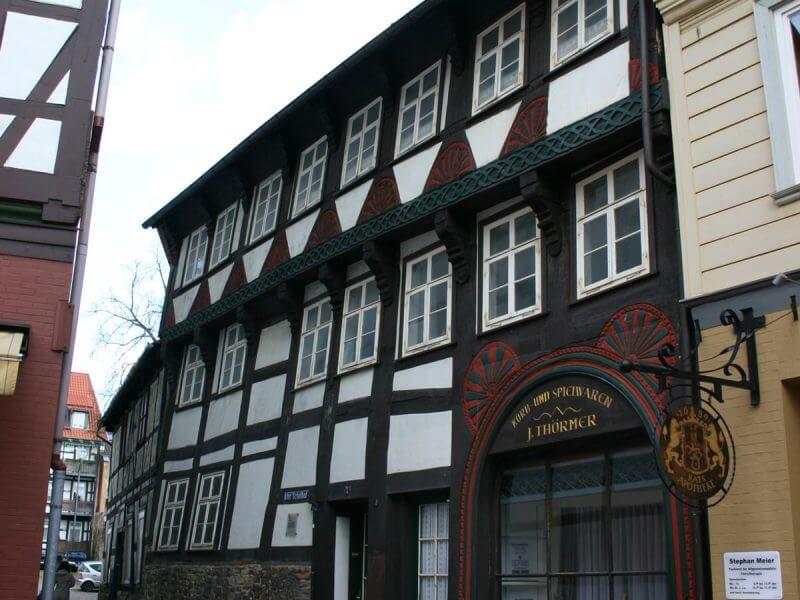 pg-lange - Thörmersches Haus Fassade Nord