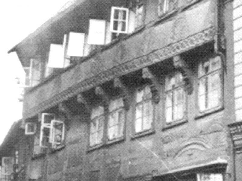 pg-lange - Thörmersches Haus Fassade um 1900