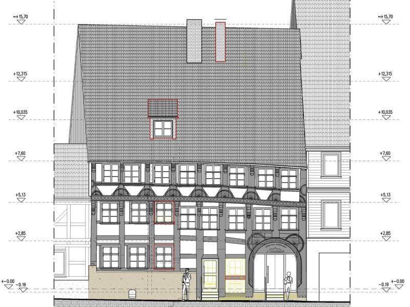 pg-lange - Thörmersches Haus Vorentwurf Ansicht Nord