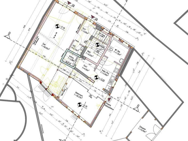 pg-lange - Thörmersches Haus Vorentwurf Grundriss Erdgeschoss