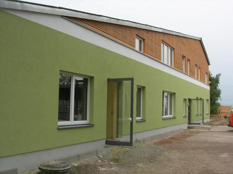 pg-lange - Werk-statt-Schule Außenansicht nach Umbau Eingangsbereich