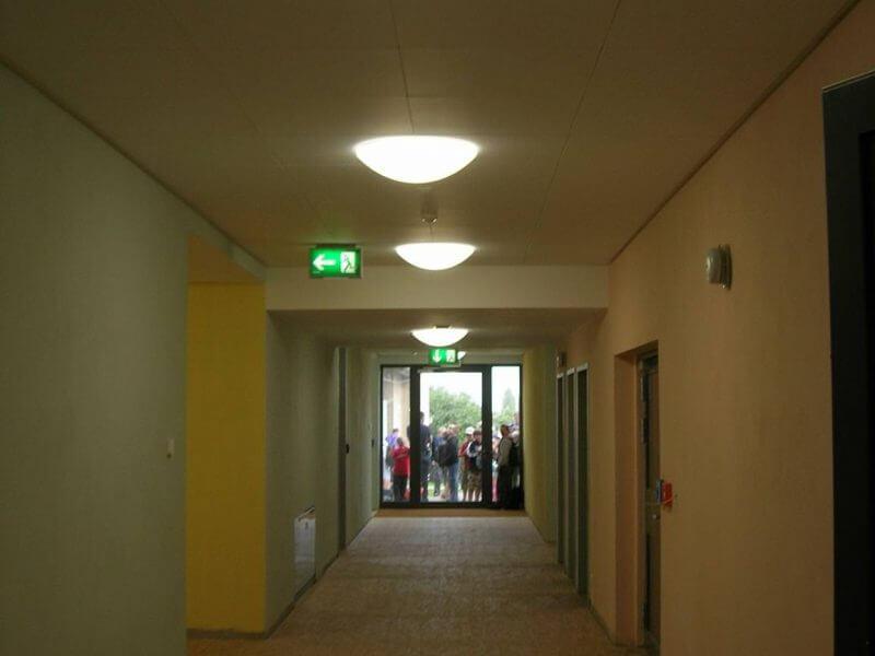 pg-lange - Werk-statt-Schule nach Umbau Innenbereich Flur