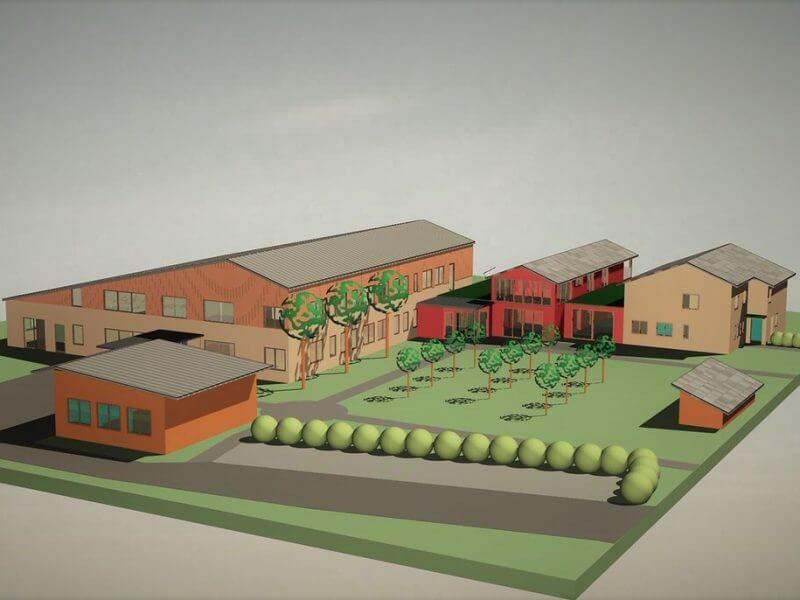 pg-lange - Werk-statt-Schule Planung 3D-Darstllung