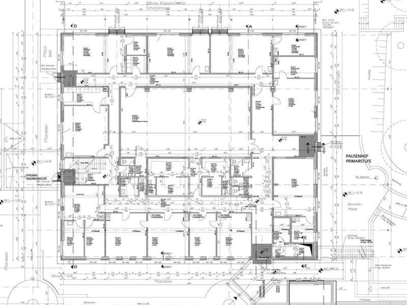 pg-lange - Werk-statt-Schule Planung Erdgeschoss