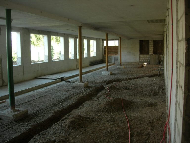pg-lange - Werk-statt-Schule Umbau innenbereich Scheune