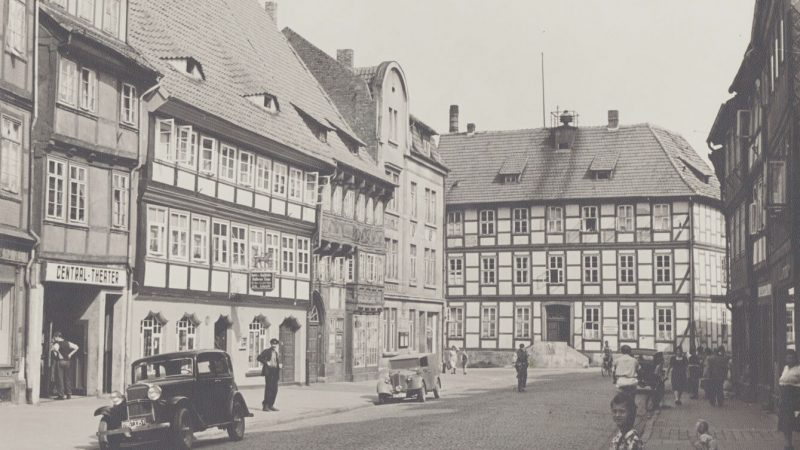pg-lange - Historische Aufnahme Häuserstraße 1 Northeim
