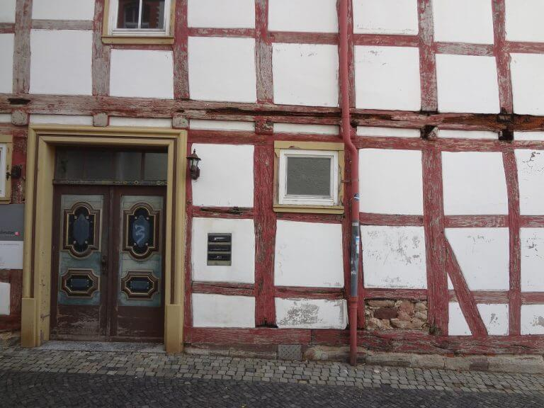 pg-lange - Marktstraße 88 Duderstadt Bestand Fassade Ost Tür