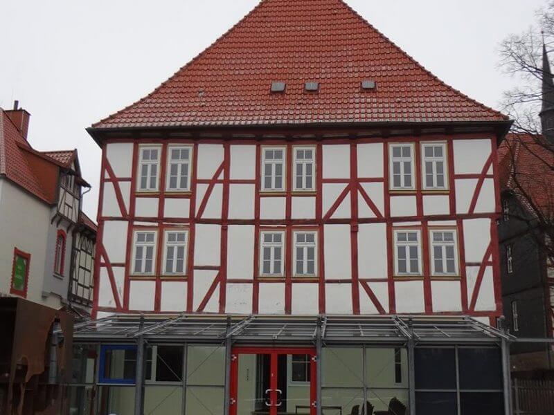 pg-lange - Marktstraße 88 Duderstadt Bestand Fassade Süd