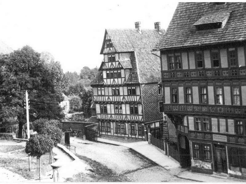pg-lange - Marktstraße 88 Duderstadt Bestand Historische Bilder