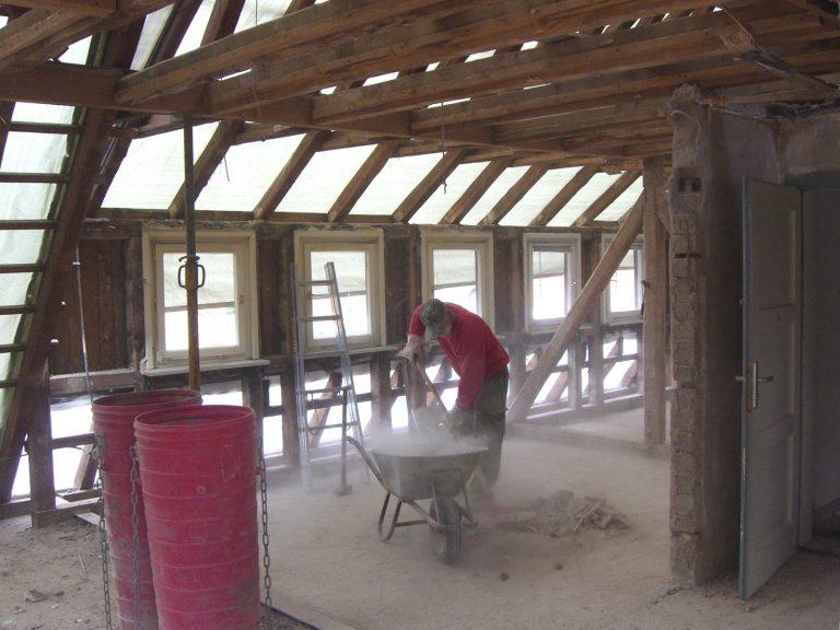 pg lange Mehrfamilienhäuser Dachausbau