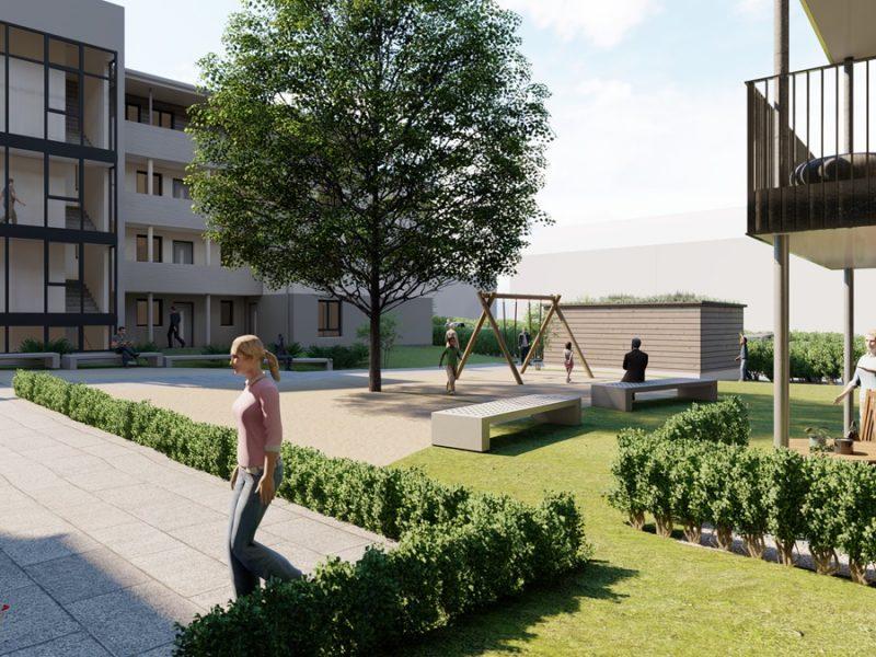 pg Lange Posthof Visualisierung Innenhof3
